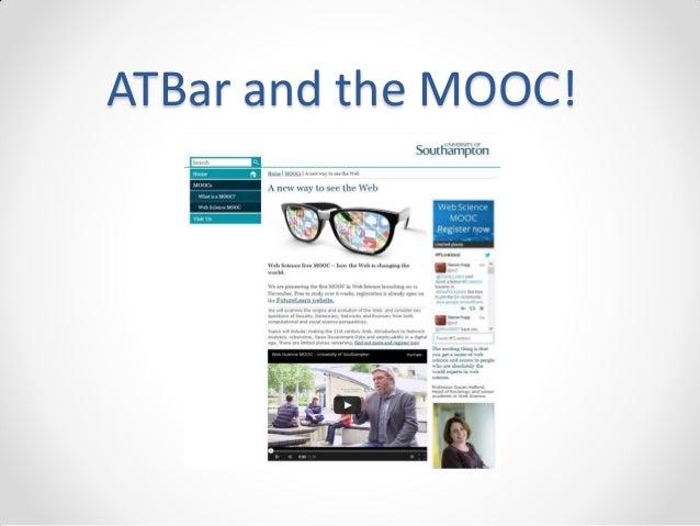 ATBar and the MOOC!