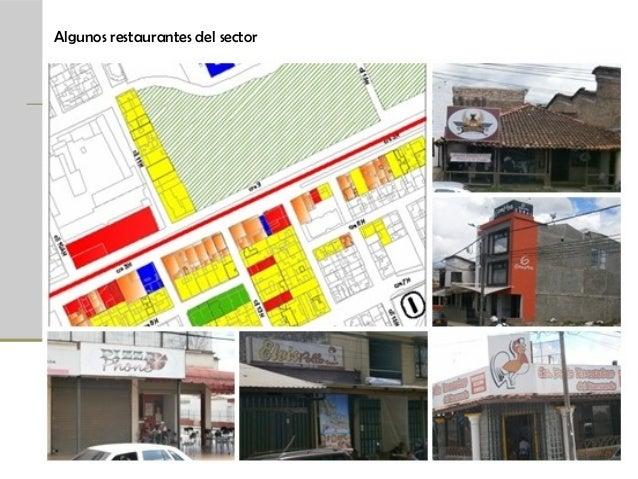 Algunos restaurantes del sector