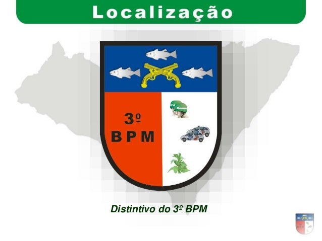 Distintivo do 3º BPM