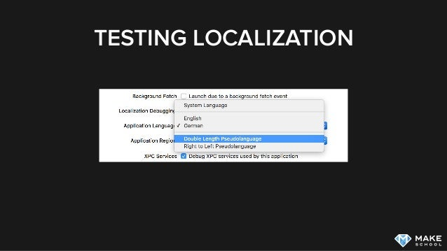 Localization and Accessibility on iOS