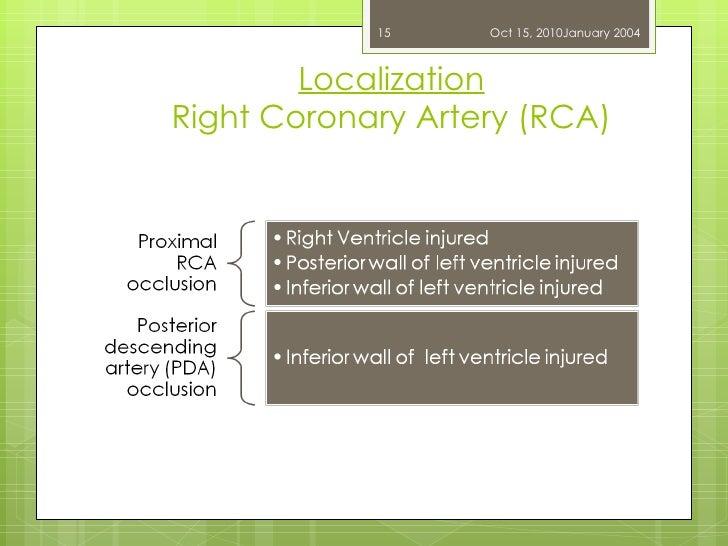 Localization Right Coronary Artery (RCA) Dr. UZMA ANSARI Oct 15, 2010 January 2004