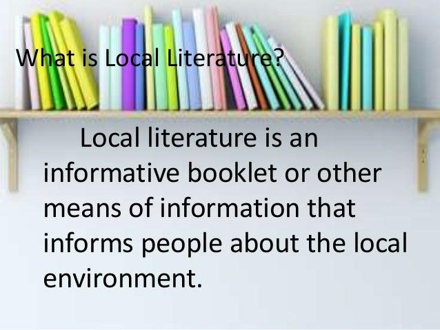 Local literature about contractualization
