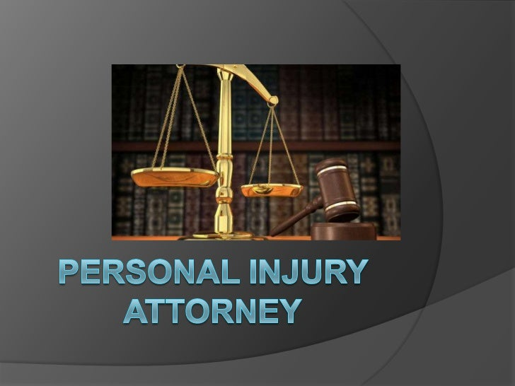 Personal Injury Attorney<br />