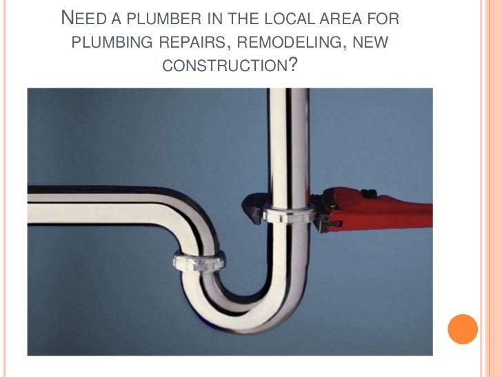 Local plumber Slide 2