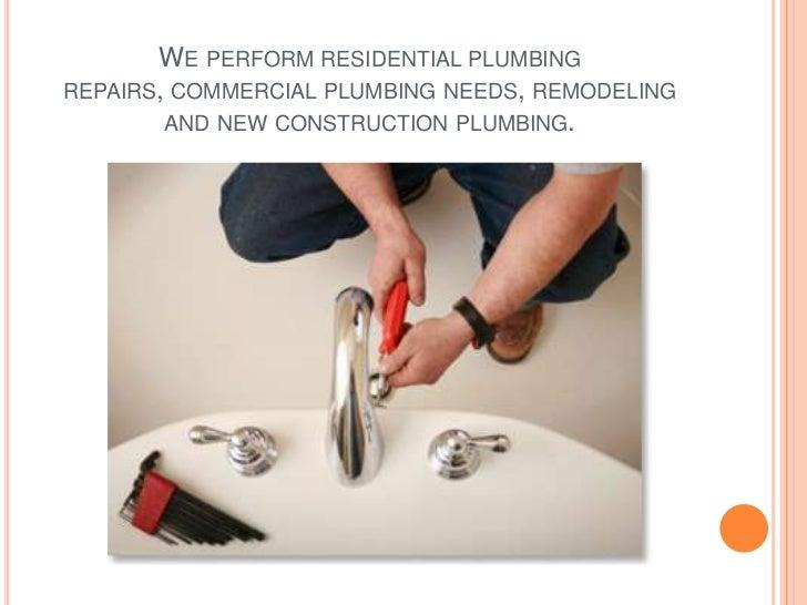 Local plumber Slide 3