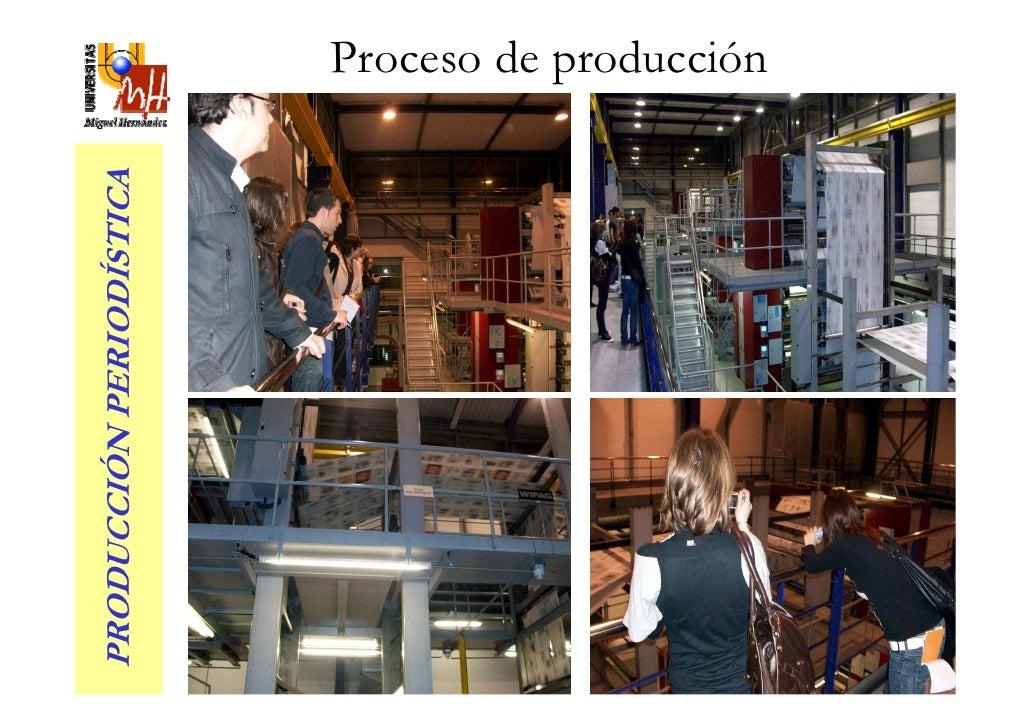 PRODUCCIÓN PERIODÍSTICA                           Proceso de producción