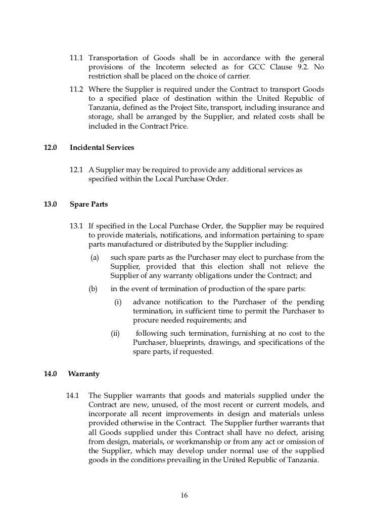 Localpurchaseorderlpoform4 – Sample Local Purchase Order