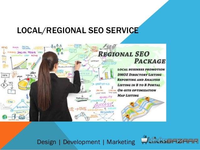 LOCAL/REGIONAL SEO SERVICE Design | Development | Marketing