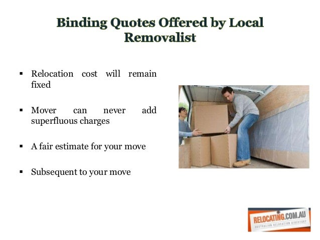 Local Removalists Slide 2