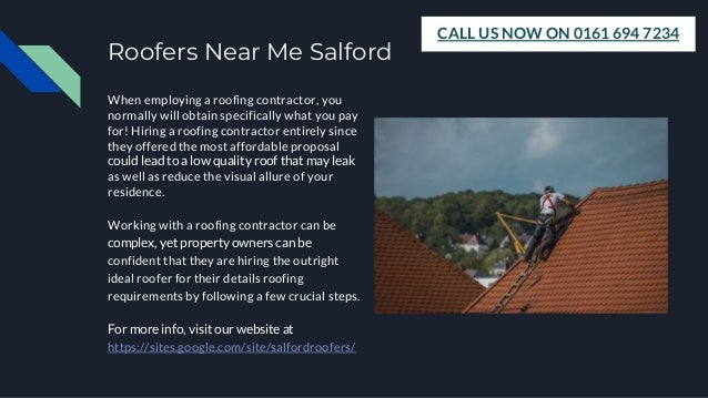 Local Roofers Salford