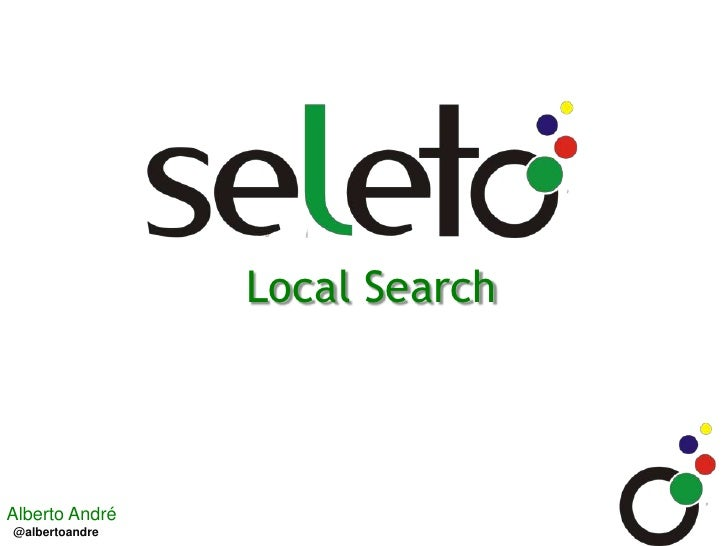 Local Search<br />