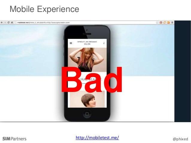 @phixed Mobile Experience http://mobiletest.me/ Bad