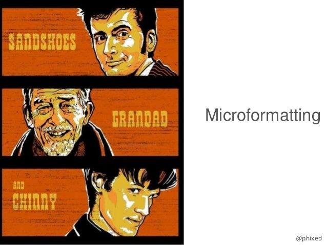 @phixed Microformatting