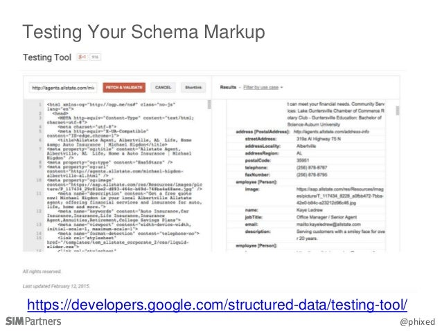 @phixed https://developers.google.com/structured-data/testing-tool/ Testing Your Schema Markup