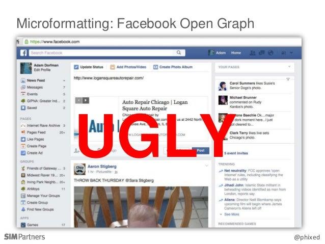 @phixed Microformatting: Facebook Open Graph UGLY