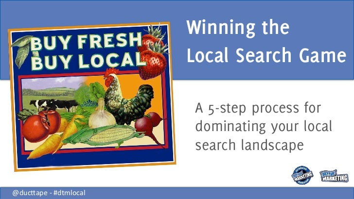 Winning the <br />Local Search Game<br />A 5-step process for dominating your local search landscape<br />