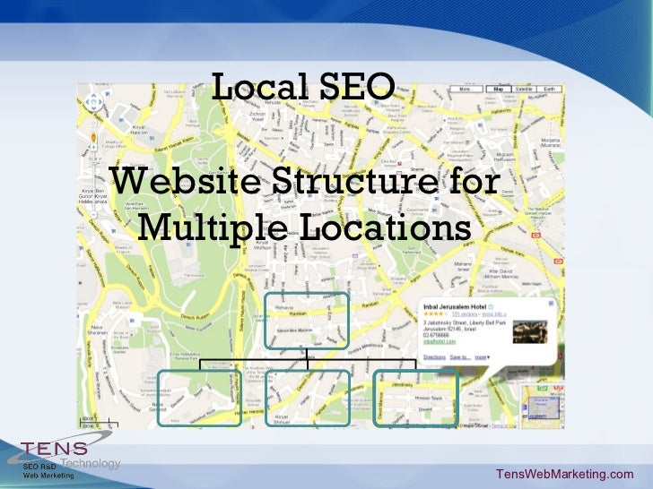 Local SEO Website Structure for Multiple Locations TensWebMarketing.com