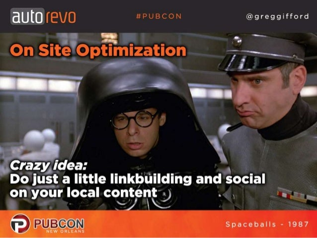 Local SEO - It's No Laughing Matter