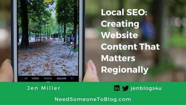 Local SEO: Creating Website Content That Matters Regionally