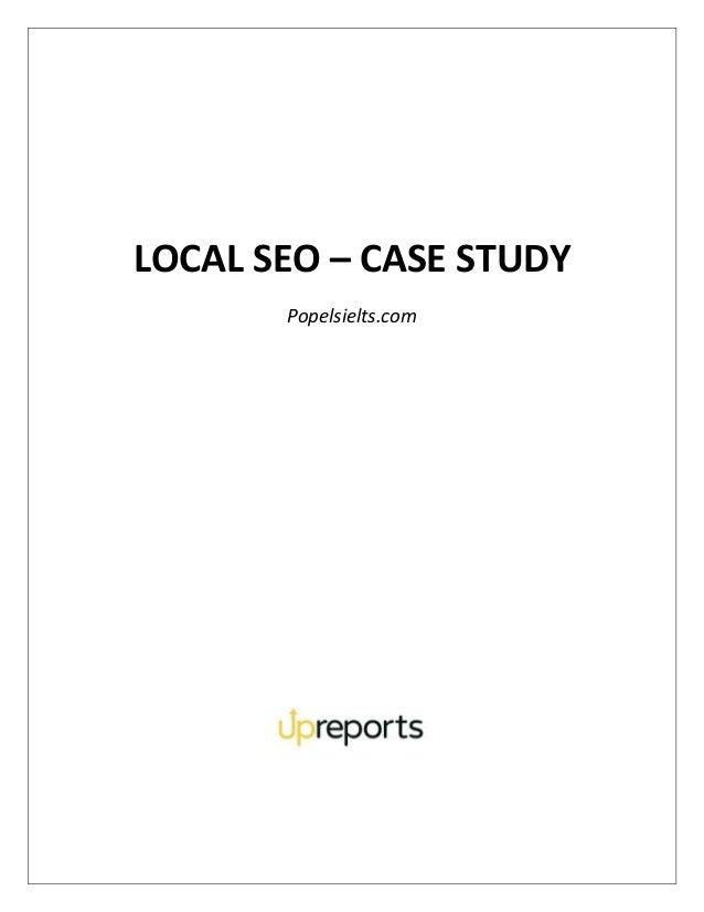 LOCAL SEO – CASE STUDY Popelsielts.com
