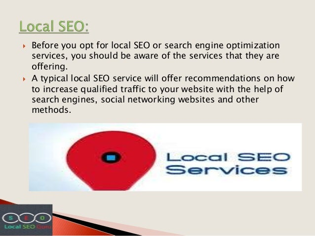 Selection for Best Local SEO Slide 2