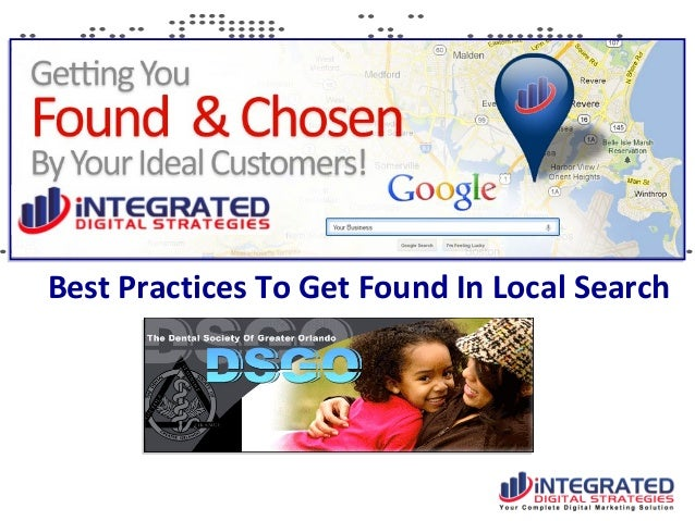 Best Practices To Get Found In Local Search