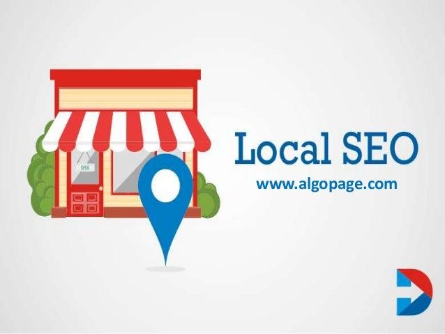 Local SEO Services India - Algopage