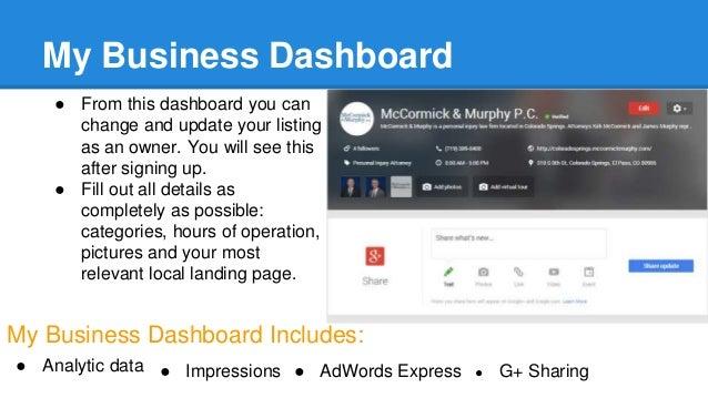 google my business cover photo size - Siteze