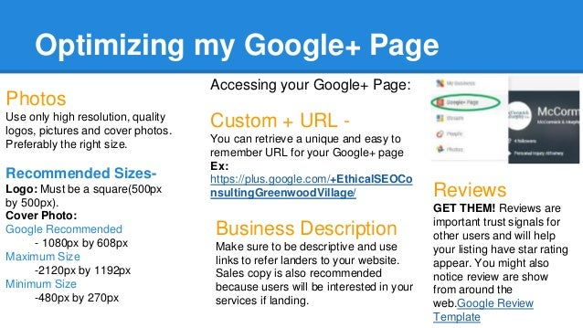 Setup & Optimize Your Google My Business Listing