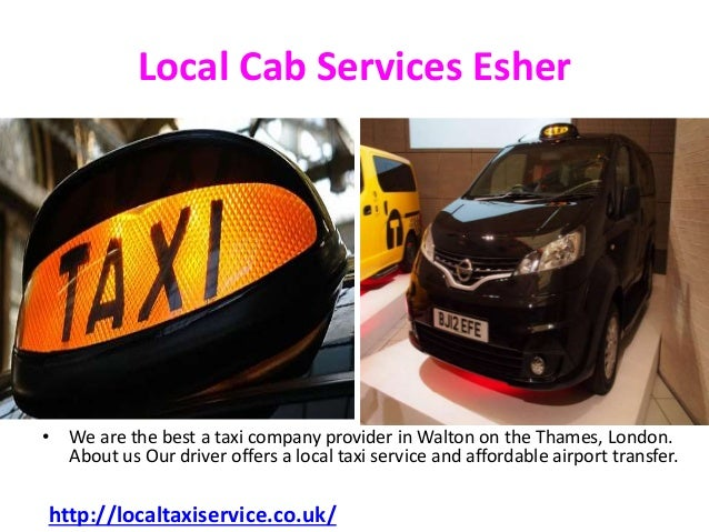 Local taxi service 24 Hour in Esher