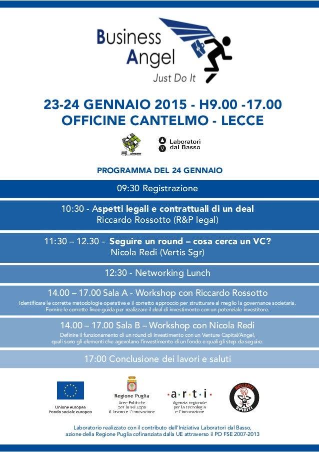 Laboratorio realizzato con il contributo dell'Iniziativa Laboratori dal Basso, azione della Regione Puglia cofinanziata da...