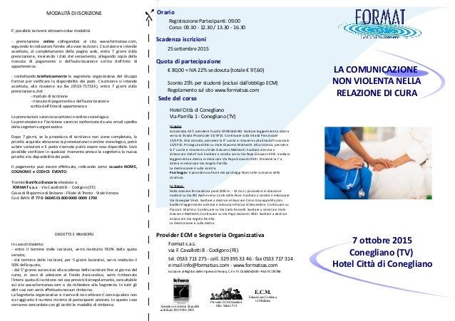 Orario Registrazione Partecipanti: 09.00 Corso: 09.30 - 12.30 / 13.30 - 16.30 Quota di partecipazione € 80,00 + IVA 22% se...