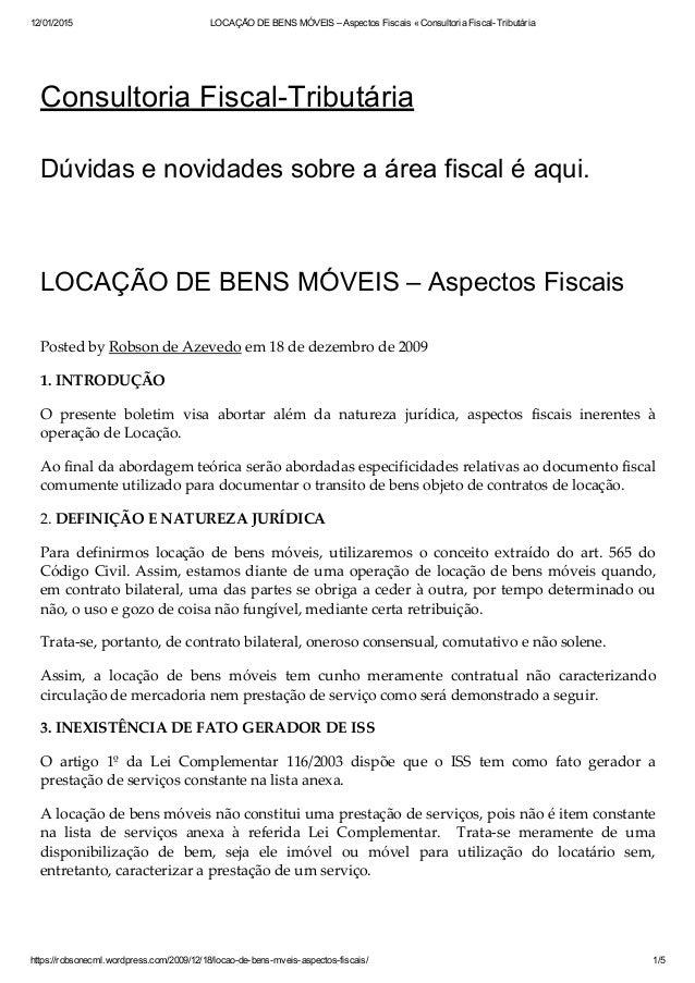12/01/2015 LOCAÇÃODEBENSMÓVEIS–AspectosFiscais«ConsultoriaFiscalTributária https://robsonecml.wordpress.com/2009...
