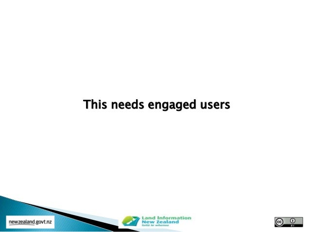 This needs engaged users