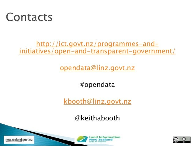 Open Data at Locate15 Conference 11 march 2015