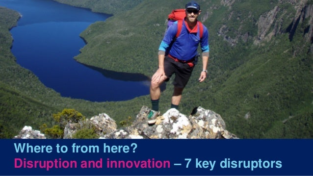 Navigating the future - 7 disruptors of Australia's spatial industry Slide 2