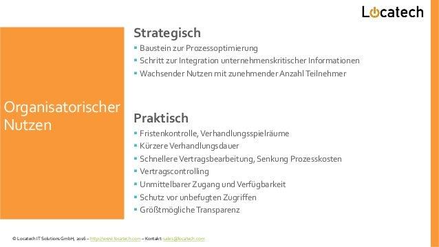 Organisatorischer Nutzen Strategisch  Baustein zur Prozessoptimierung  Schritt zur Integration unternehmenskritischer In...