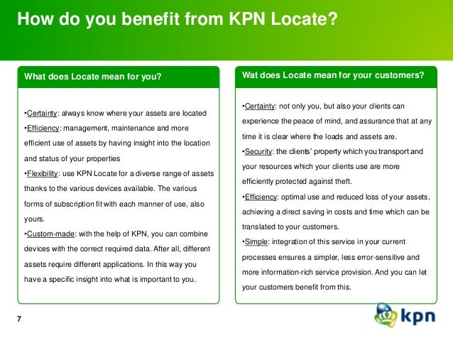 Police Tracking Devices For Vehicles >> KPN Locate product presentation Feb 2014
