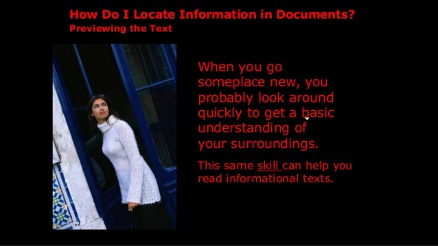 When you go someplace new, you probably look around quickly to get a basic understanding of your surroundings. How Do I Lo...