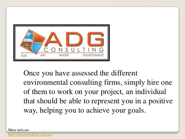 Locating The Best Environmental Consulting Firm
