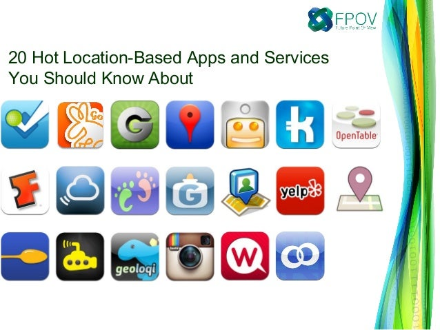 20 Hot Location-Based Apps and ServicesYou Should Know About