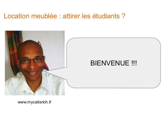 Location meublée : comment attirer les étudiants ? Slide 2