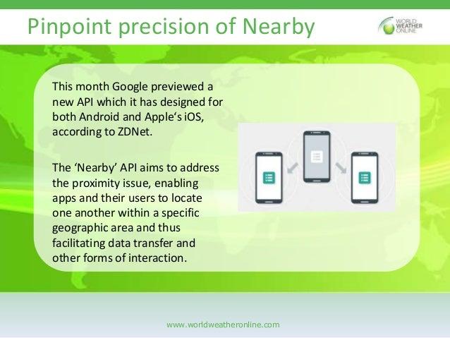Location based APIs are getting smarter Slide 3