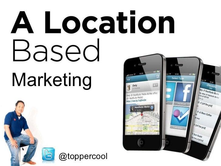 Marketing   @toppercool