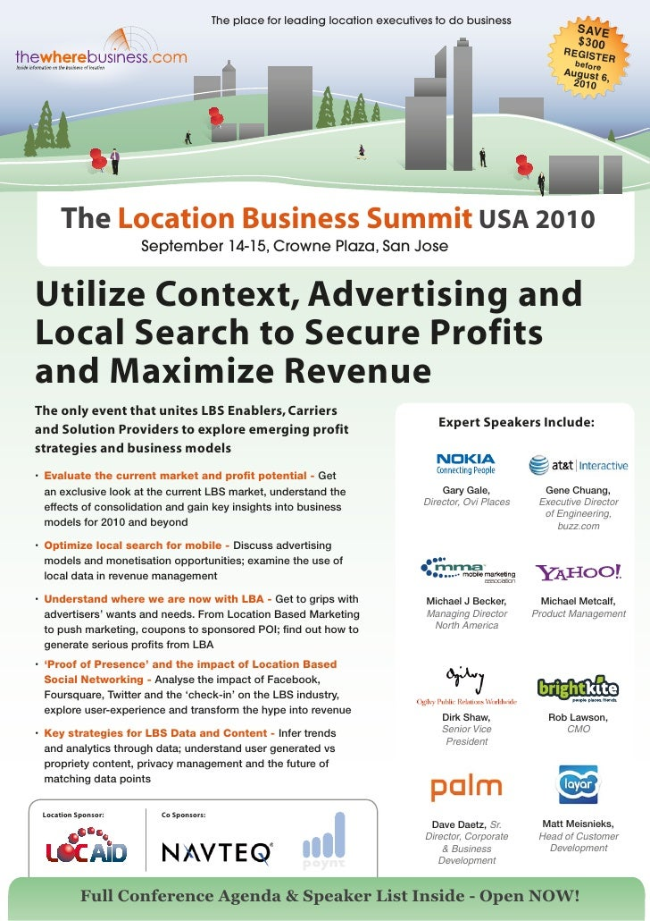 The place for leading location executives to do business                                                                  ...