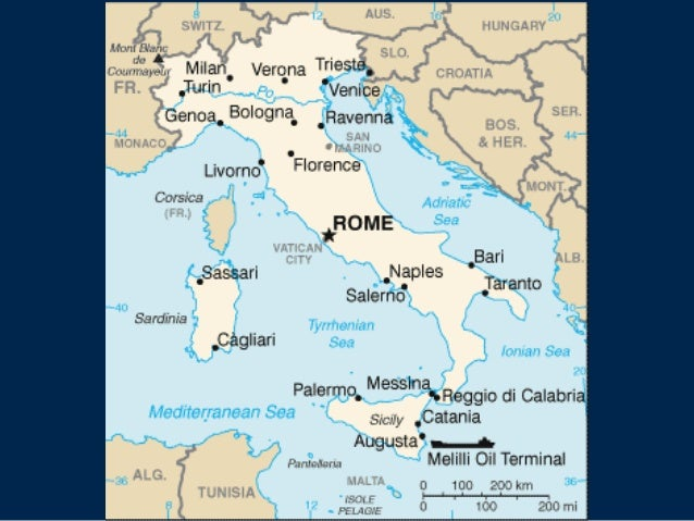 Location Climate And Natural Resources Of Italy And Germany - Germany map natural resources
