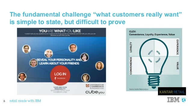 """6 The fundamental challenge """"what customers really want"""" is simple to state, but difficult to prove"""