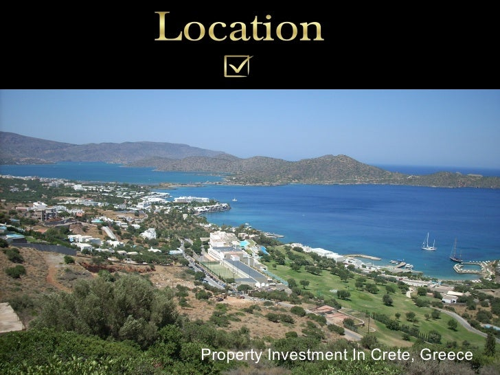 Property Investment In Crete, Greece