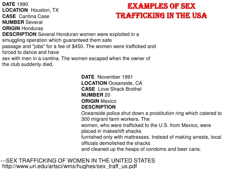 Sex Trafficking In The Usa 20