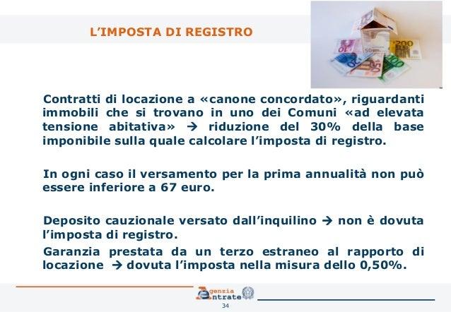 Registrare un contratto di affitto cheap costo contratto for Rinnovo contratto affitto